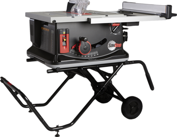 Sawstop job site table saw for 12 inch portable table saw