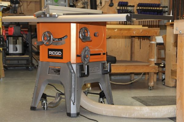 Ridgid 10 Inch 13 Amp Table Saw R4512