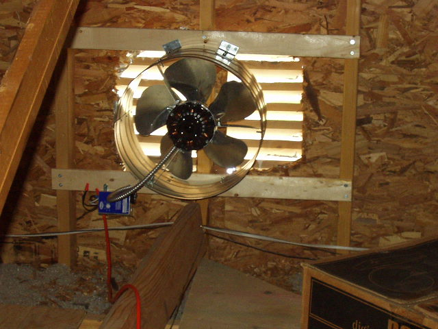 Attic Ventilation Fans A Concord Carpenter