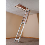 Werner Ae2210 Energy Seal Attic Ladder A Concord Carpenter