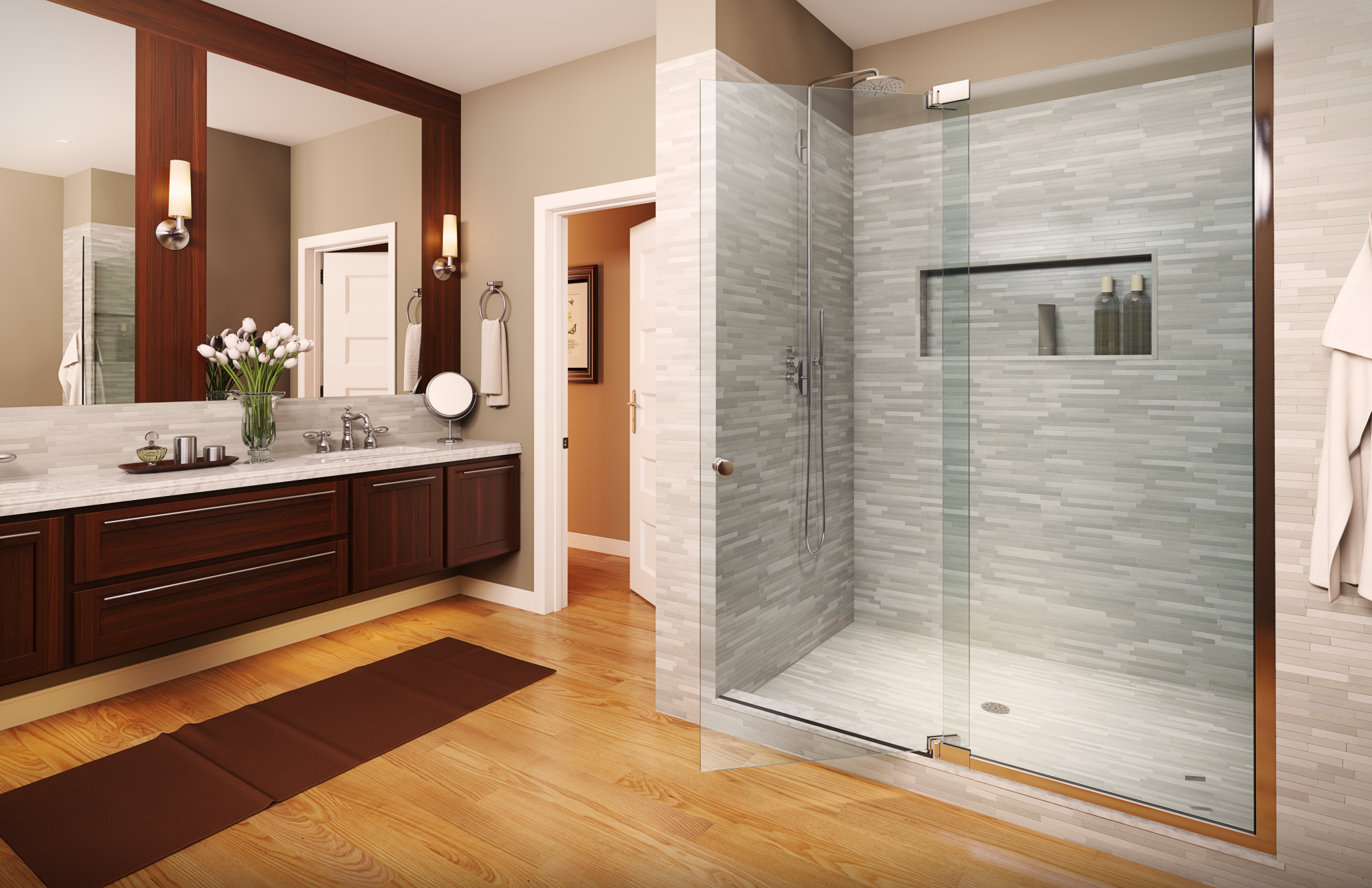 Bathroom trends a concord carpenter for Latest bathroom remodels