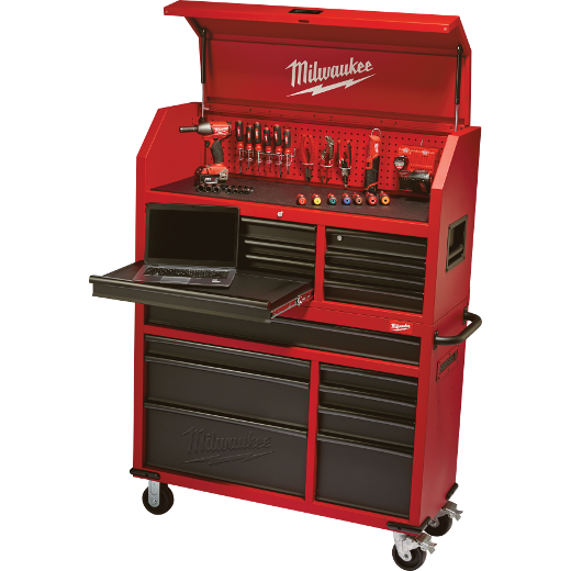 Milwaukee 46-Inch Steel Tool Storage Chest and Cabinet - A Concord ...