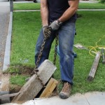 How To Replace A Broken Granite Post