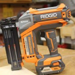 RIDGID 18 Gauge 18 Volt Brushless Brad Nailer