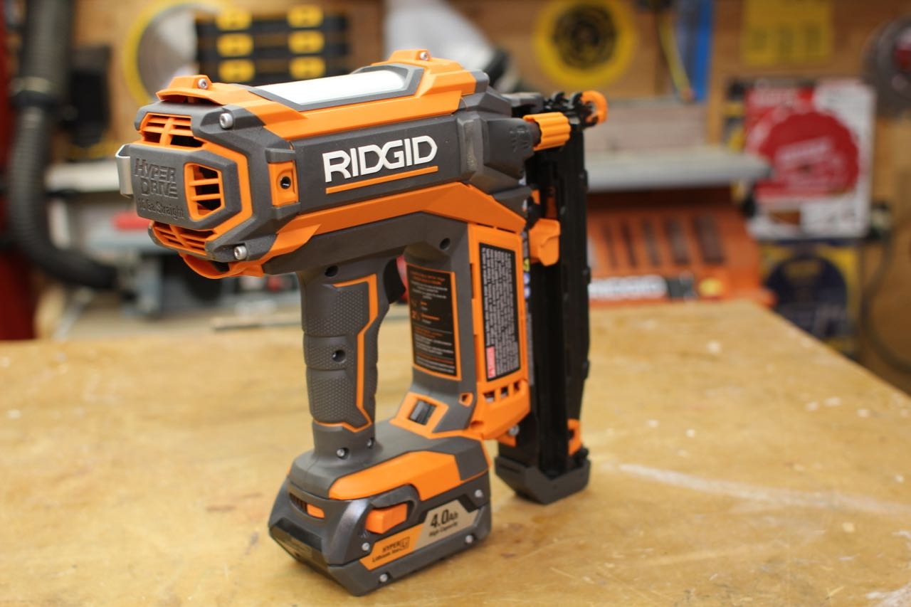 RIDGID HYPERDRIVE 18V Finish Nailer R09892B - A Concord Carpenter
