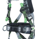 Miller fall arrest harness