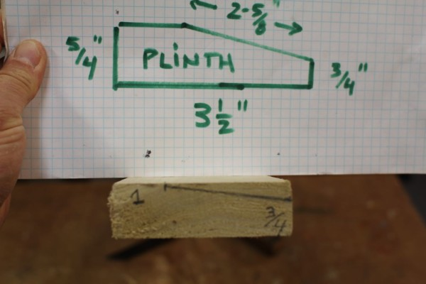 How to Make Plinth Blocks