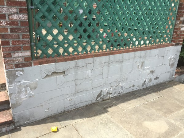 How to repair exterior cinderblock walls with stucco a Exterior wall plaster design
