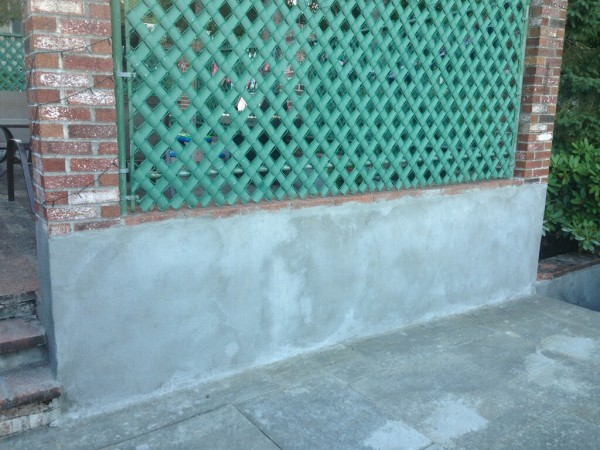 How To Repair Exterior Cinderblock Walls With Stucco A Concord Carpenter