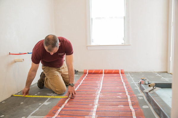1StickyMat Radiant floor Heating – Warmup Electric Radiant Heat