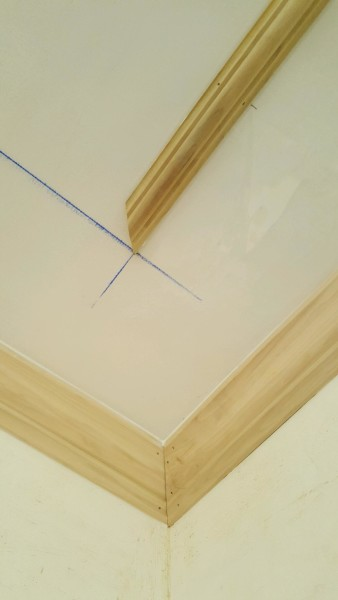How to Apply Astragal Molding On a Ceiling
