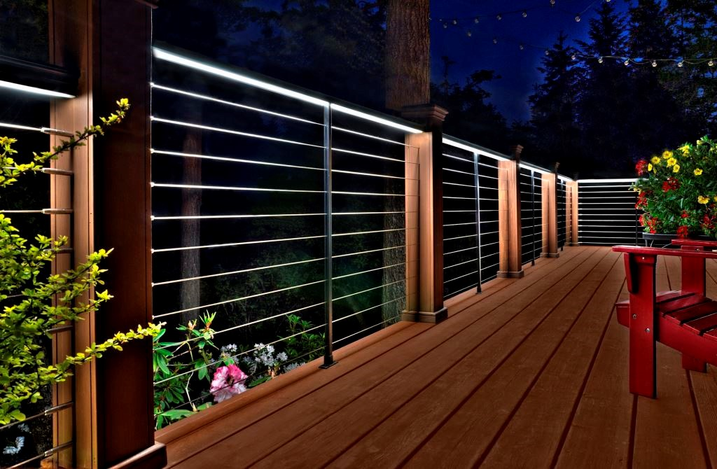 Lighting Basement Washroom Stairs: Feeney LED Deck Lighting