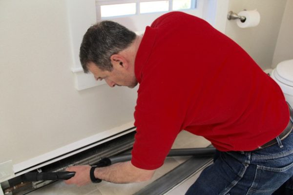 How to Clean Baseboard Heater