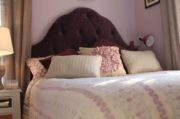 How to Mount an Upholstered Headboard To the Wall
