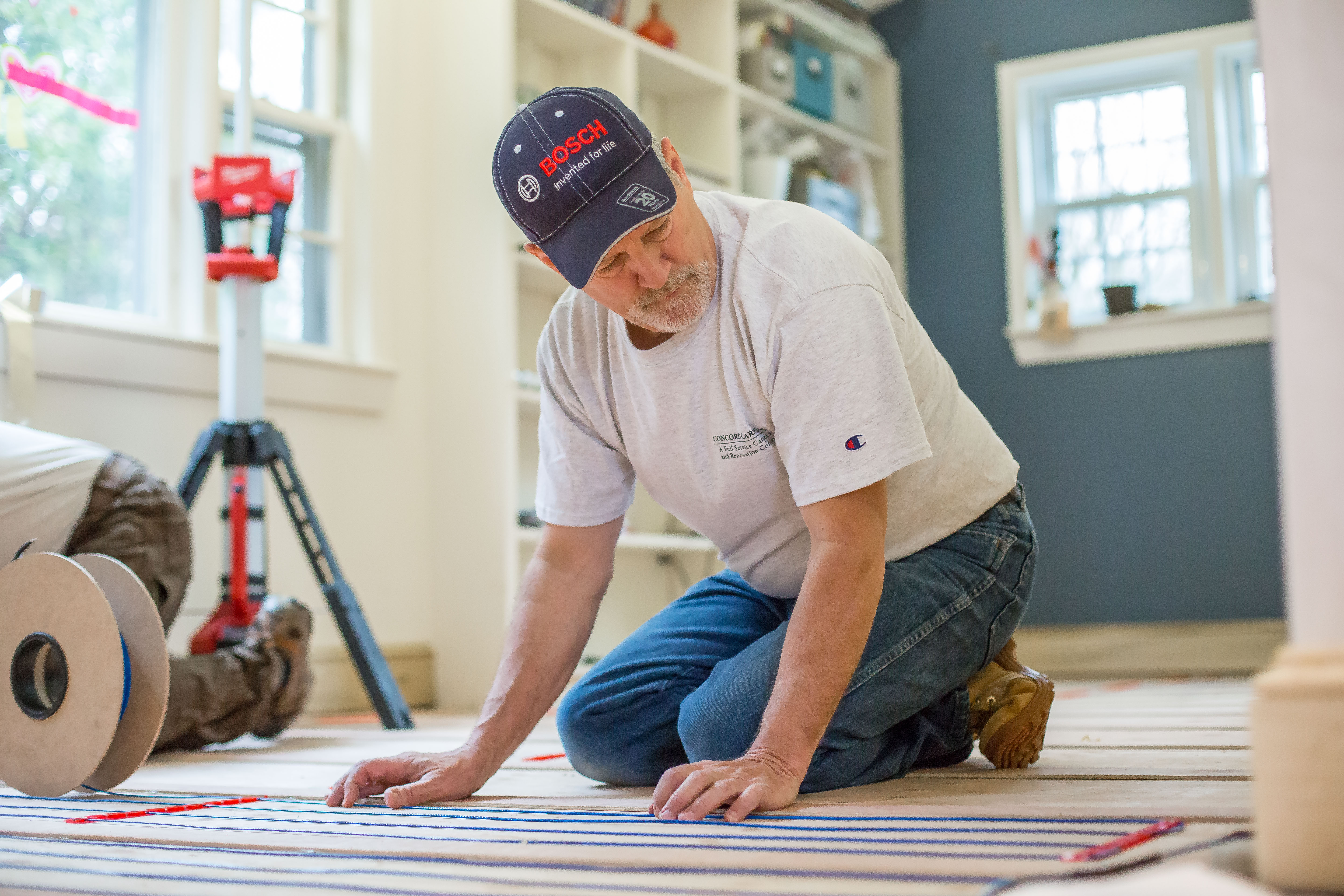 Wood Floors And Electric Radiant Heat A Concord Carpenter