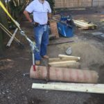 Removing Concrete Deck Footings