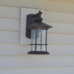Replacing an outdoor light fixture -14