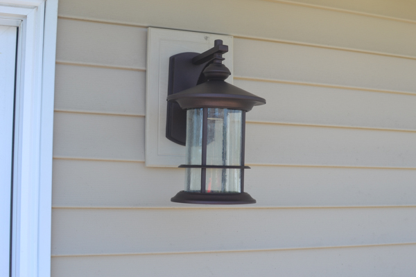 Replacing an Outdoor Light Fixture - A Concord Carpenter