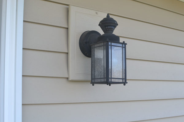 replacing an outdoor light fixture 3