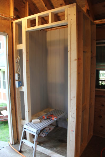 How To Build A Pool Changing Room A Concord Carpenter