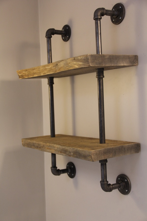 Live Edge Wood And Gas Pipe Shelf Page 5 Of 5 A