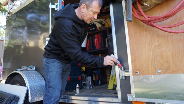 Preparing Your Tool Trailer For the Winter