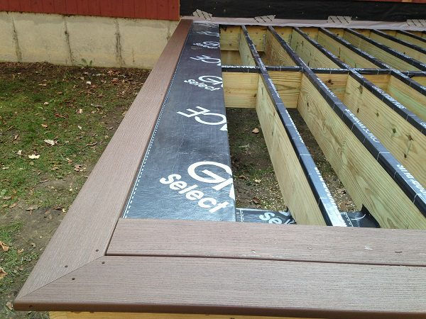 Rubber Flashing On Deck Joists A Concord Carpenter