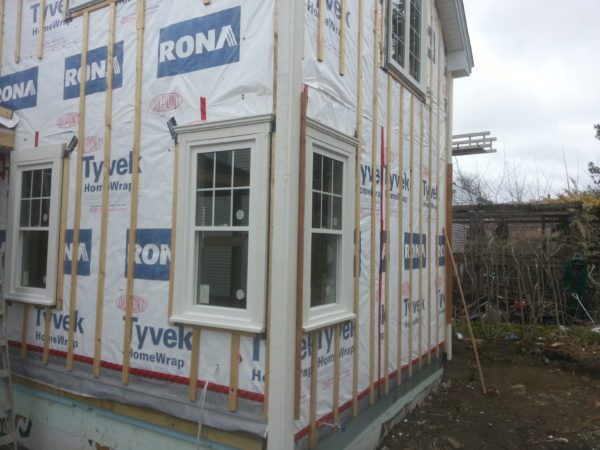 House wrap Tyvek