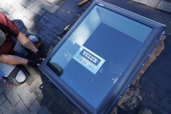 Replacing Skylights When Re Roofing A Concord Carpenter