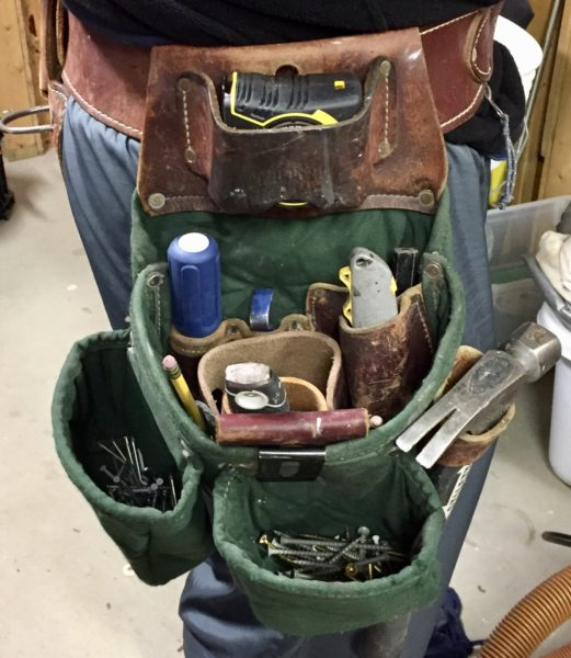 What\'s in Your Tool Belt - A Concord Carpenter