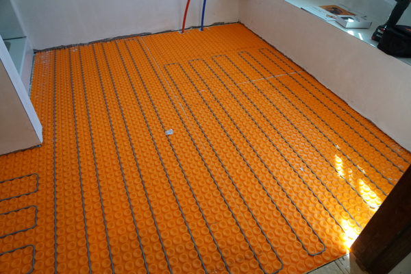 Schluter Floor Heat Installation Carpet Vidalondon