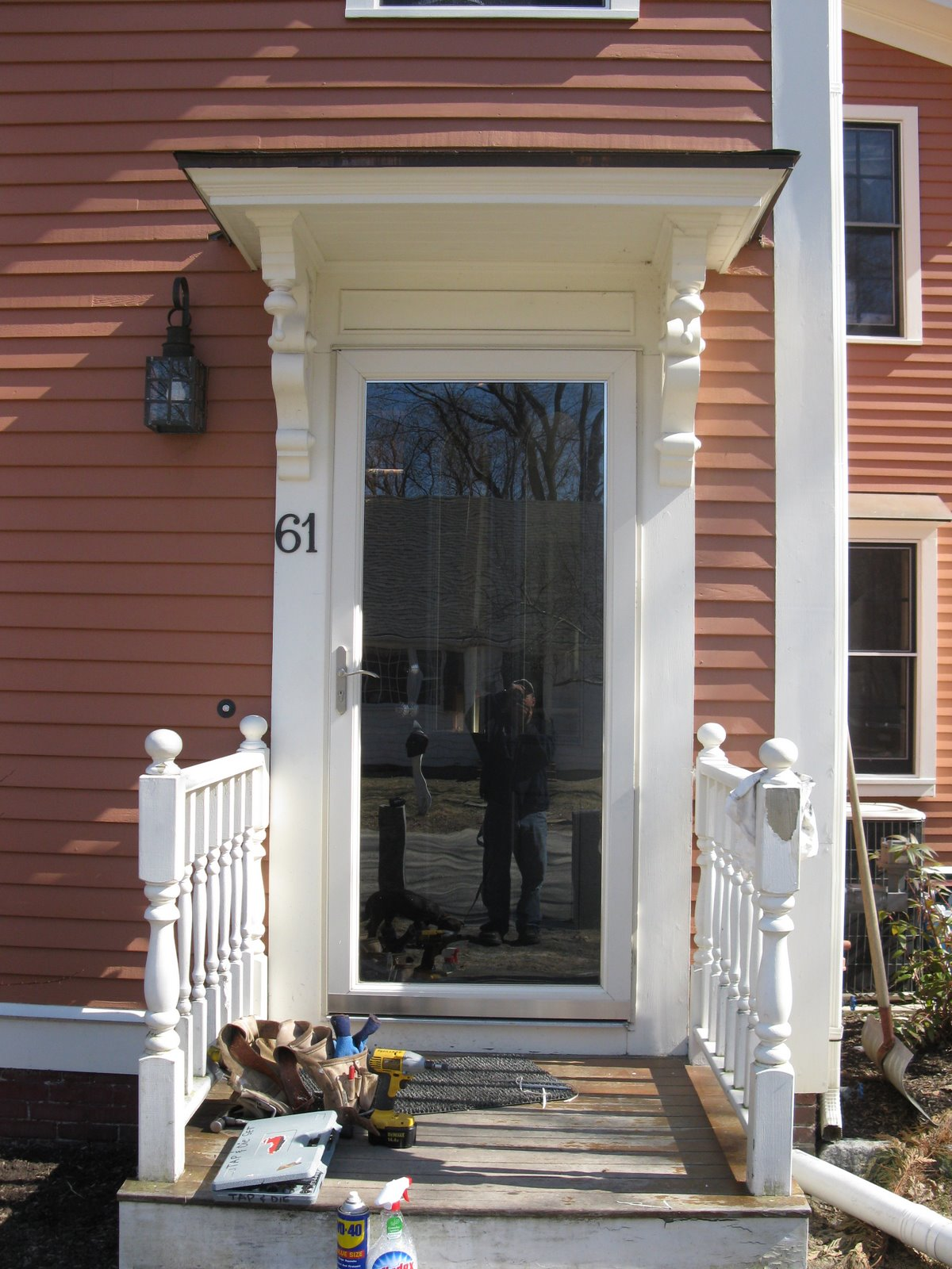 Storm Door Repair A Concord Carpenter