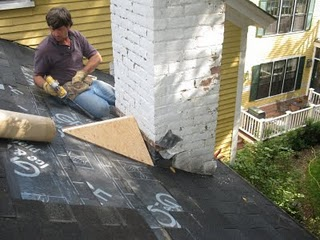 Installing A Roof Cricket
