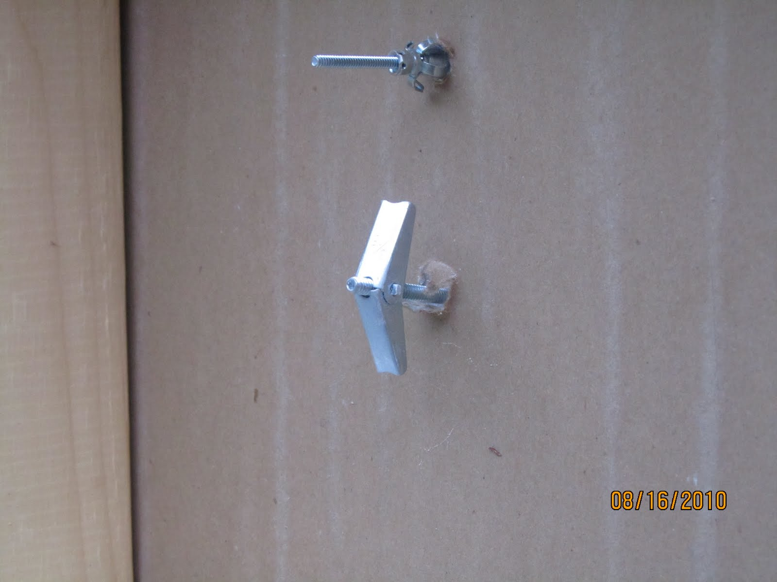 Metal Wall Anchors how to know which wall anchor to use - a concord carpenter