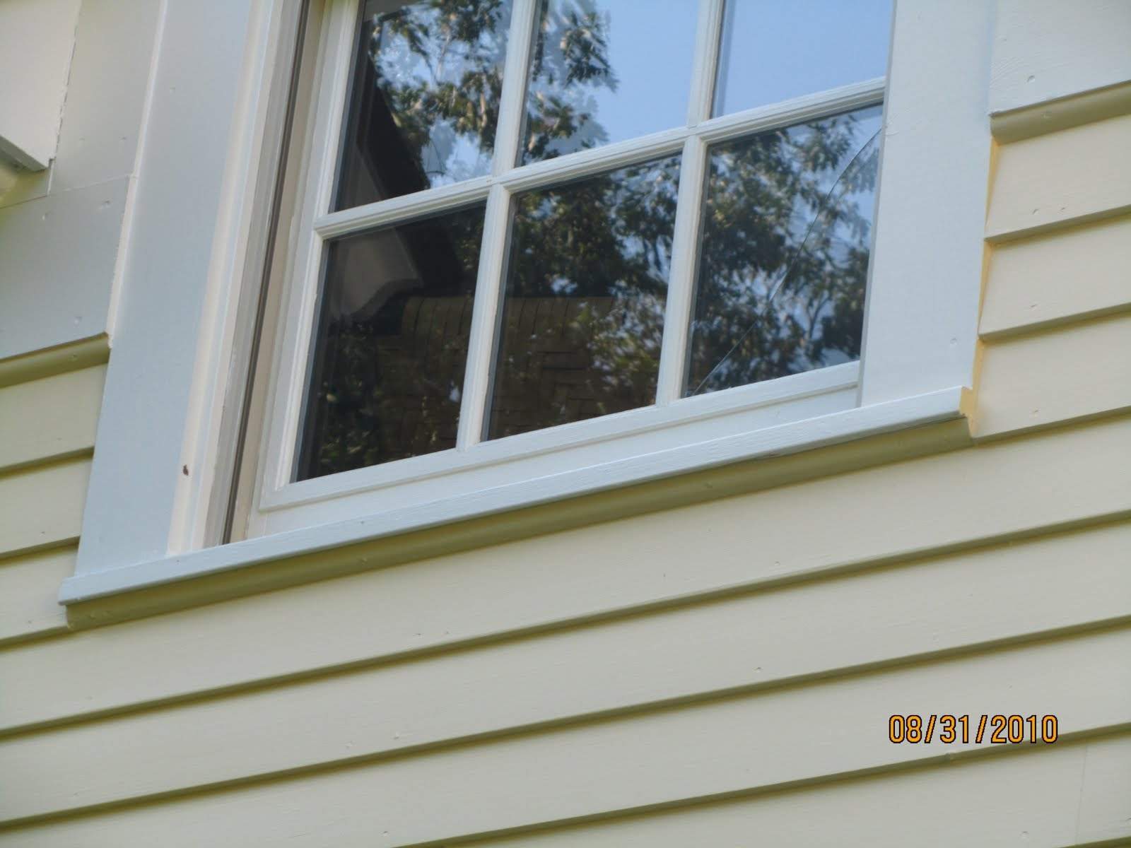 Replacing a window sill a concord carpenter for Window sill replacement