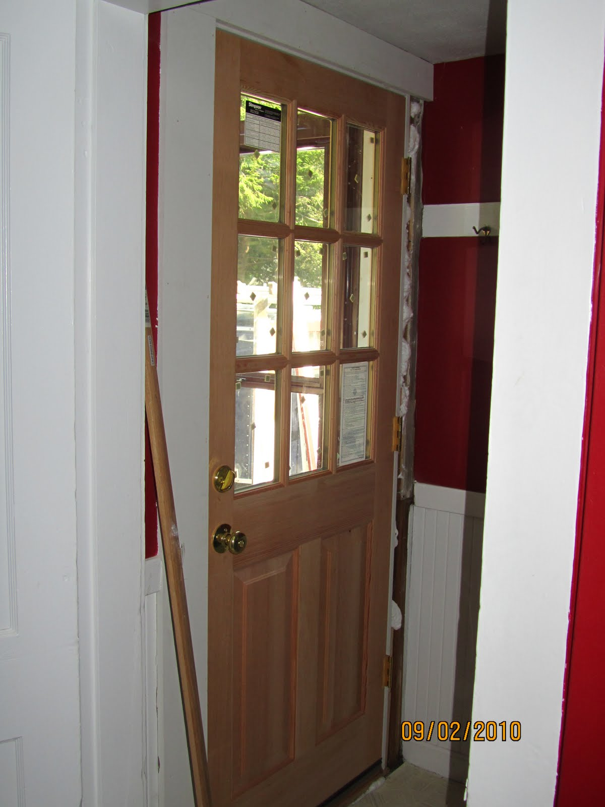 How To Replace An Exterior Door A Concord Carpenter