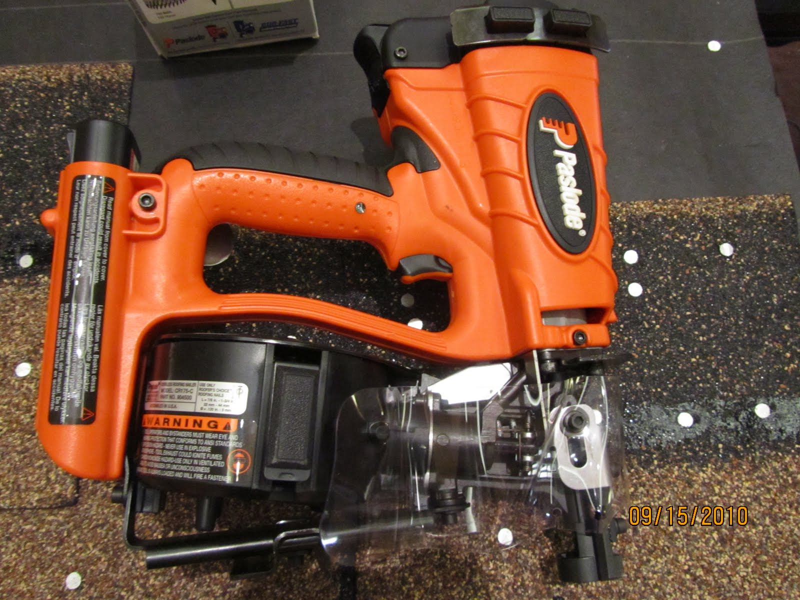 Paslode Cordless Roofing Nailer A Concord Carpenter