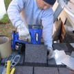 duo-Fast cordless roofing nailer, roof repair