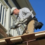 removing a cantilevered balcony