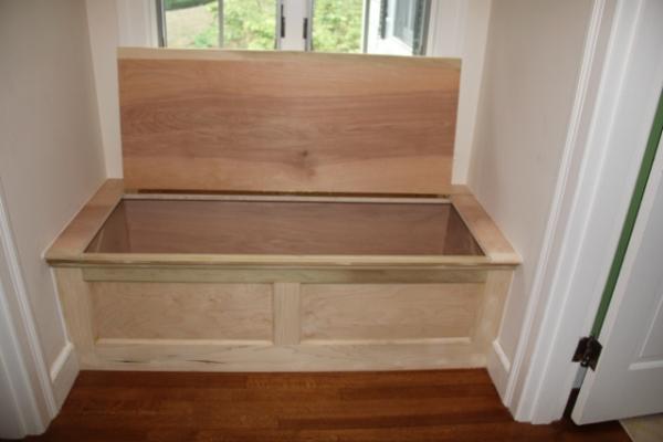 Installing A Window Seat - A Concord Carpenter