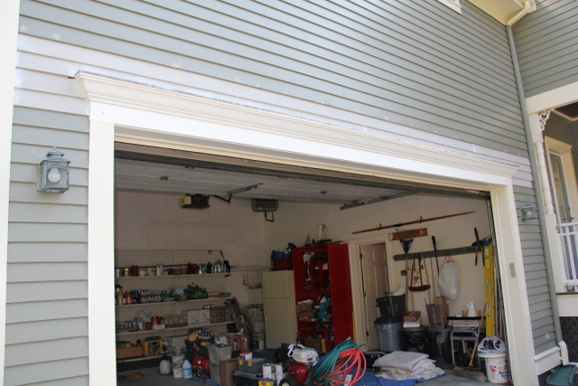 Dressing Up A Garage Door With Crown Molding