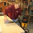 Dust free sanding
