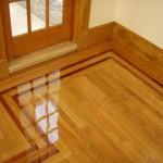 floor border and inlay