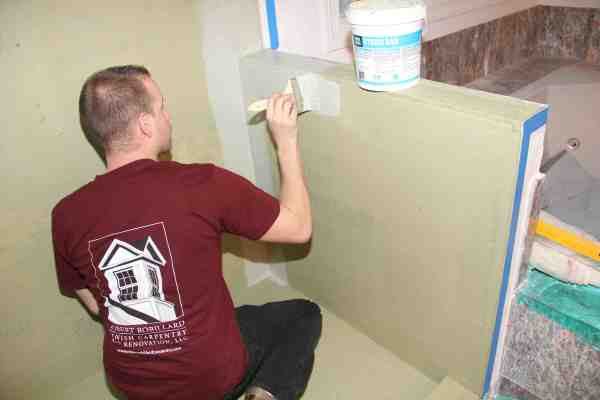 Liquid Surface Waterproofing For Tile Showers Paint On Products Shower Walls