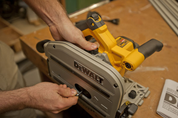 Dewalt Track Saw How To Replace Blade
