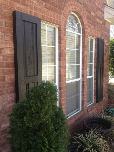 how to build exterior shutters