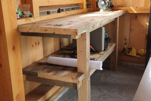 American Furniture Design's Build-Your-Own Workbench Plan