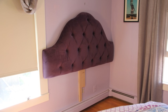 Mount An Upholstered Headboard To The Wall