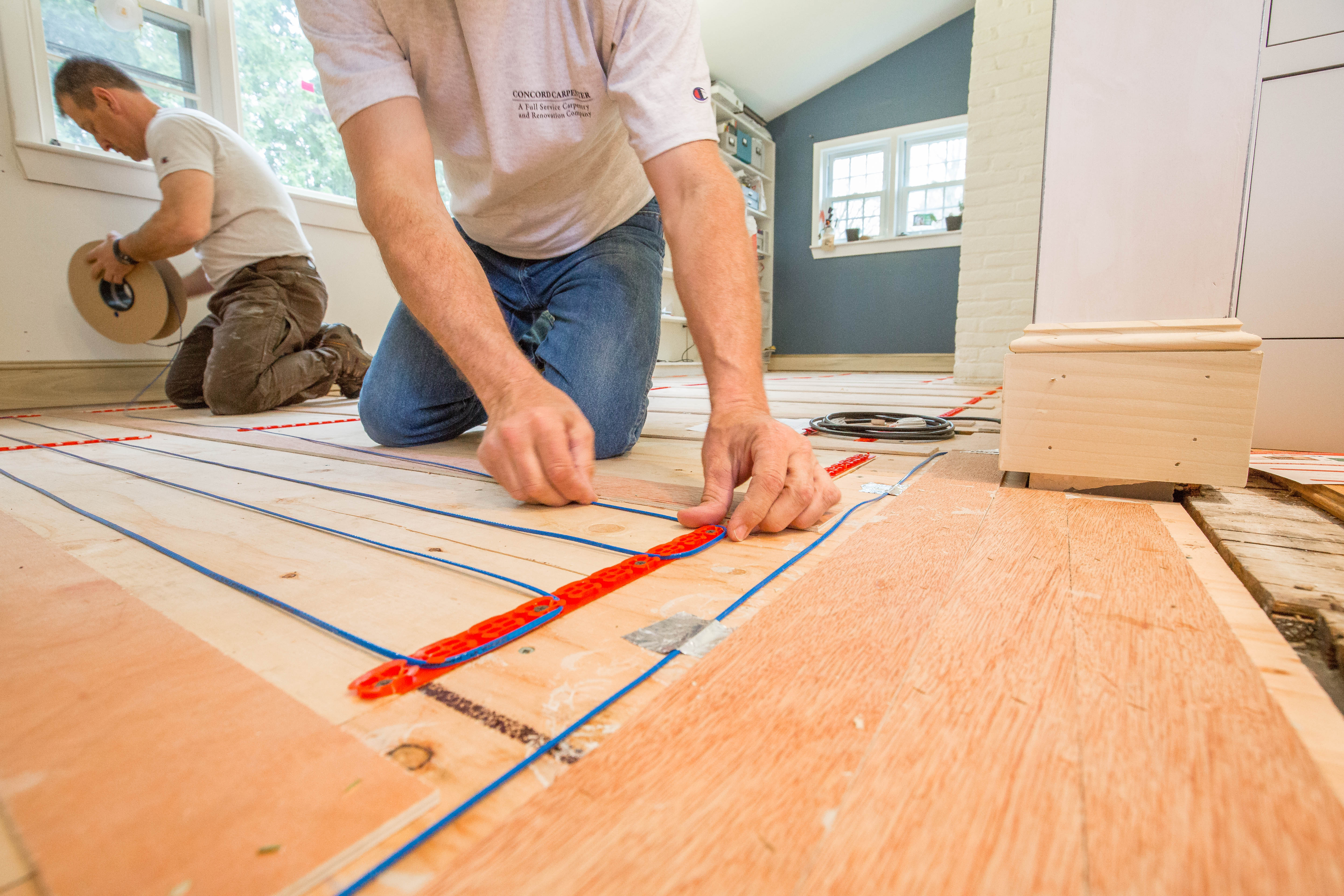 Wood Floors And Electric Radiant Heat