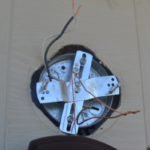 Replacing an outdoor light fixture -10